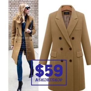 6f522ddb341b5 Jackets & Blazers - Ashoreshop Spring Women's Wool Jacket On Sale